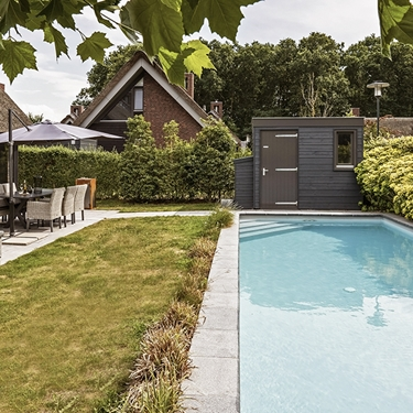 Mooi Schoorl 17 Swimming pool