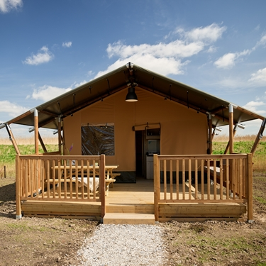 4 Persons Glamping tent