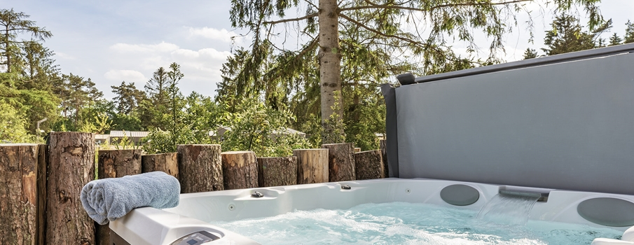 4-persoons Suitelodge  jacuzzi & sauna