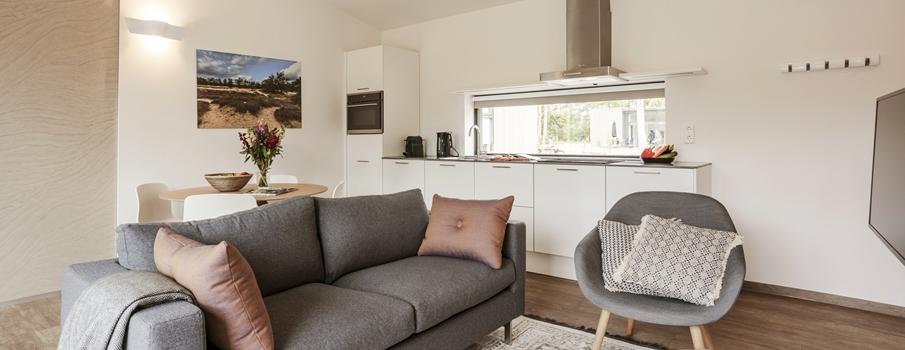 4-persoons Suitelodge Comfort Plus