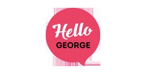 Hello George logo